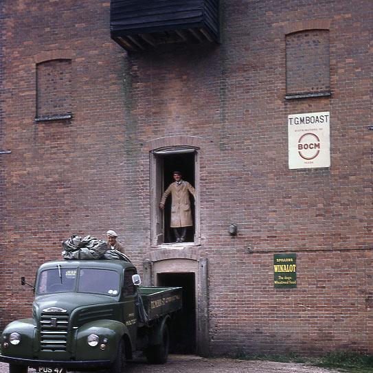Letheringsett Watermill 1969 - loading